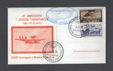 FDC 1970  40° ANNIVERSARIO 1° CROCIERA TRANSATLANTICA ROMA-RIO DE JANEIRO