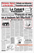 LE CANARD ENCHAÎNÉ n°5031 du 29/3/17*Pénélope-François=FIFTY FICTIF*PITIÉ l PEN