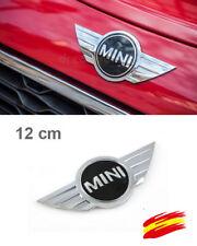1x  MINI Cooper Adhesivo Emblem Badge 3D Frontal Metal Logo 120 mm