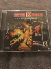 Factory Sealed NEW Sega Dreamcast Game EIGHTEEN WHEELER AMERICAN PRO TRUCKER