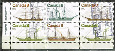 Canada Famous Naval Ships stamps block 1967