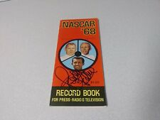 RICHARD PETTY Signed Autographed 1968 NASCAR Rule Book Rare Vintage