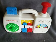 Fisher Price Radio Cassette Busy Toy Infants Toddlers 1990s HTF