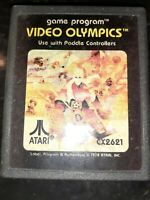 Video Olympics (Atari 2600, 1978) *BUY 2 GET 1 FREE +FREE SHIPPING*