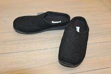 Foamtreads Tomas Men's Slippers - Black Wool - Size : 9W