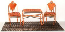 For Dawn Pippa Doll 1:12 Dollhouse Miniature Furniture Metal Bistro Set! Lot 1