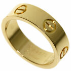CARTIER   Ring love ring #52 K18 Yellow Gold