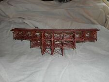 N Scale Curved  Trestle