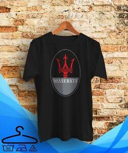 Maserati Automotive T-shirt Black