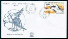 FSAT / TAAF 1986 Sc.C91 Antarctic Birds. FDC