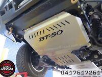 Mazda Bt-50 (2012-2016) 3mm Mild/Raw Steel 2pce Bash Plate Set