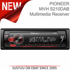 Pioneer Car Stereo│DAB+ Digital Radio│1-DIN Media Player│iPod-iPhone-Android│USB