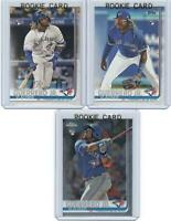 x3 VLADIMIR GUERRERO Jr 2019 Topps Chrome Series 2 + Image Variation RC card lot