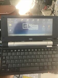 NEC MobilePro 900 Handheld PC w/battery , W/Non OriginAl Charger & Stylus