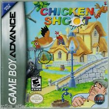 Chicken Shoot (Nintendo Game Boy Advance, 2005) Factory Sealed