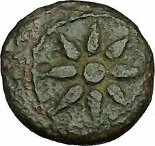 URANOPOLIS in MACEDONIA 300BC Aprodite as Uranus Earth Globe Greek Coin i39793