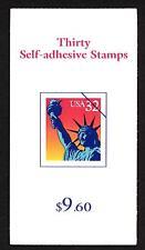 USA - Libretto Adesivo - 1997 - Statua della Libertà - $ 9,60 - dent. 11