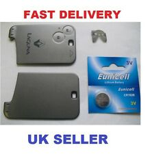 Renault Laguna II key Remote card replacement shell case  + FREE Battery