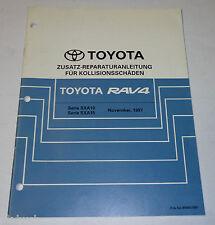 Werkstatthandbuch Toyota RAV4 / RAV 4 Karosserie Unfallinstandsetzung St.11/1997