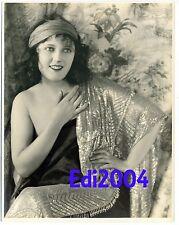 CARMEL MYERS Vintage Original Photo Silent Era Starlet 1920's Oversized 11x14