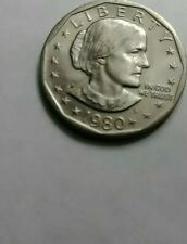1980P Susan B Anthony Dollar, Uncirulated from US mint rolls