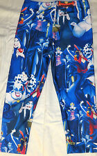 Disney Villians With Jafar Polyester Spandex Yoga Pants/Leggings OSFM Adults