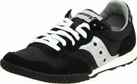 Saucony Womens Bullet Low Top Lace Up Fashion Sneakers, Black/Silver, Size  nTDD
