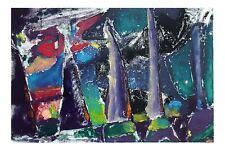 George Cramer Relative Reaction Abstract Modern American Art Tandem Press