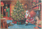 """Wentworth 250 Piece Wooden Christmas Jigsaw Puzzle. """"He Looked Like a Peddler"""""""