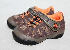 CROCS Dawson EO Washable Sneaker Toddler C-6 Brown Suede