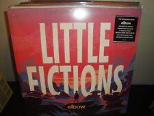 "Elbow ""Little Fictions"" 180G Limited Ed. Colored Vinyl White Violet LP, New"