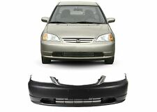 Replacement Front Bumper Cover For 2001-2003 Honda Civic New Free Shipping USA