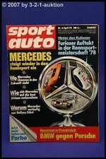 Sport Auto 4/78 DB 450 SLC 5.0 300 SLR 280 E Safari