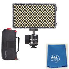 Aputure AL-F7 Aputure H198 Upgrade Ver 256 LED Bi-Color Dimmable Led Video Light