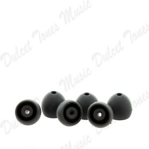 Shure Soft Flex Ear Tips Buds SMALL 3 Pairs Genuine Item - No Retail Packaging