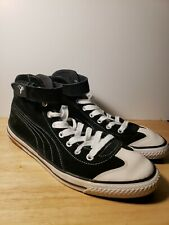 PUMA 917 Mens Size 9 Sneaker Shoes Sport Black Suede Mid Top Classic EUC RARE!