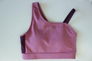 GYMSHARK BNWT Dusky Pink Women's Fitness Sports Revival Bra Top Size XS