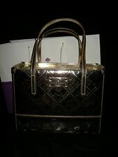 New wout tag Kate Spade New York Gold patent leather spade Tote bag