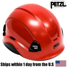 Petzl Red Vertex Best Professional Arborist Tree Climbing Helmet A10Brc