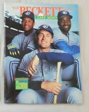 August 1993 Beckett Baseball Roberto Alomar Joe Carter John Olerud Blue Jays