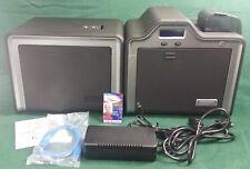 Fargo HDP5000 ID Card Printer Dual-Sided w/  Magnetic + Smart Card Encoder