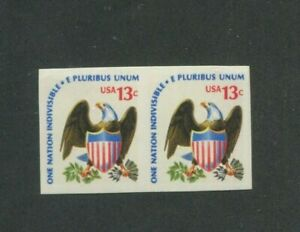 United States Postage Stamps #1596a MNH VF Imperf Pair