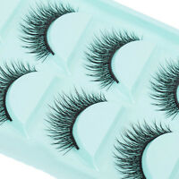 5 Paar Damen Unechte Wimpern Falsche Künstliche 1xBOX Handgemacht-Eye Lashes N_