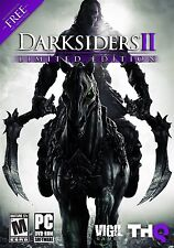 Darksiders II Limited Edition PC Games Window 10 8 7 XP Computer Game action rpg