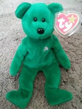 RARE 1997 Erin the Bear Beanie Baby  Mint w/ Tag Protector