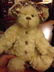 """14"""" Annette Funicello Collectible Bear #19379 Rare Retired The Collector"""