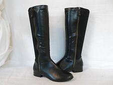 Alfani Size 6 M Drew Black Knee High Boots New Womens Shoes NWOB