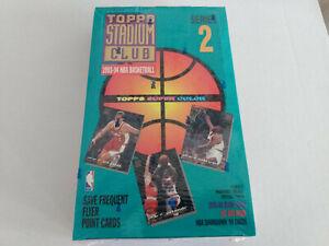 1993-94 Topps Stadium Club Series 2 NBA Basketball Cards Sealed Box x24 packs UK