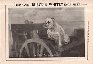 1915 Bulldog takes control of the gun Original Ad