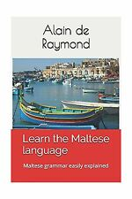 Learn the Maltese language: Maltese grammar easily explained Free Shipping